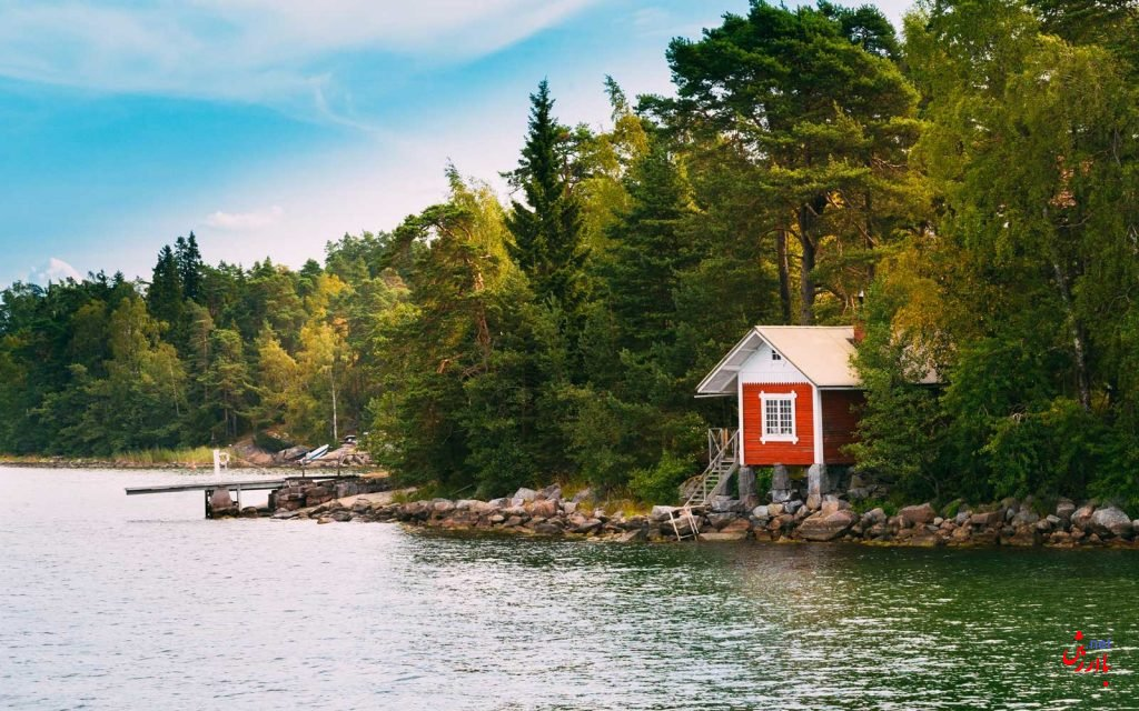 جزیره سوپر شی فنلاند