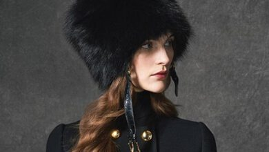 تصویر از لباس زمستانی  دولچه اند گابانا