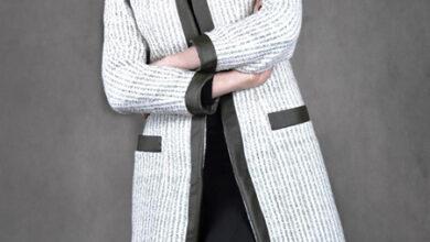 Photo of مدل مانتو سفید و مشکی