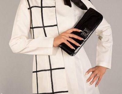 Photo of مدل مانتو های زنانه با رنگ های مشکی و سفید