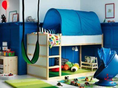 تختخواب زیبا برای اتاق کودک