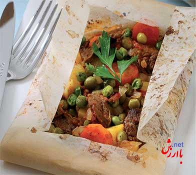 تصویر از برنامه غذایی هفتگی ترک