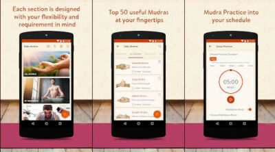اپلیکیشن ورزش یوگا Daily Mudras