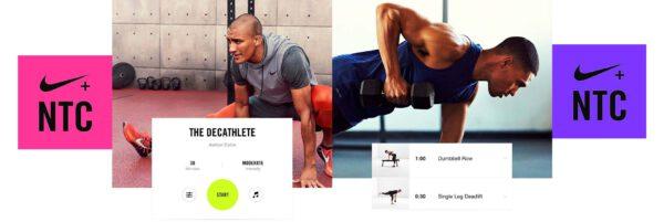 اپلیکیشن کاهش وزن و تناسب اندام Nike Training Club