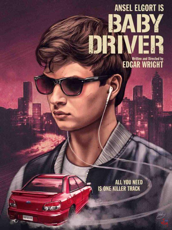 10 فیلم برتر سال 2017 - بیبی راننده baby driver