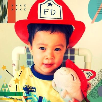 کاردستی کلاه اتش نشانی برای روز آتش نشانی
