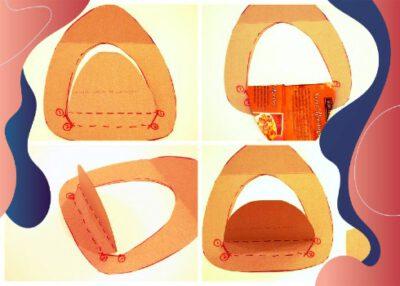آموزش ساخت کاردستی کلاه اتش نشانی برای کودکان
