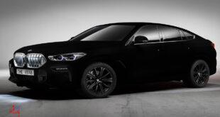 bmw سیاه ترین خودرودنیا
