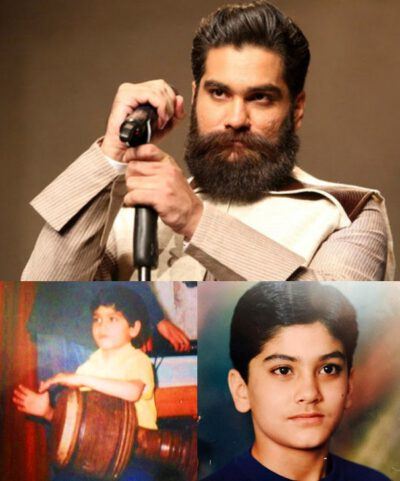عکس کودکی علی زند وکیلی