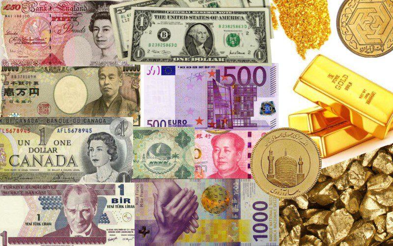 طلا ارز سکه دلار جدول قیمت آنلاین , قیمت بروز دلار ، طلای 18 عیار و سکه