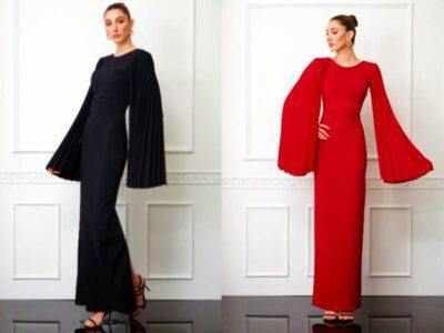 مدل لباس مجلسی ترکیه ای ۲۰۲۰ زنانه   جدیدترین مدل لباس شب ترکی کوتاه اینستاگرام 2020