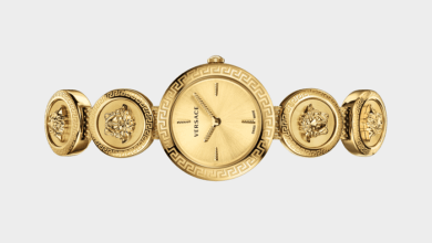 مدل جدید ساعت زنانه ورساچه