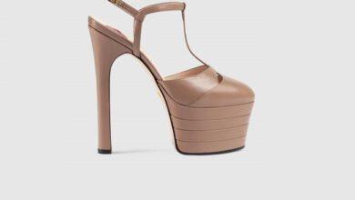 مدل جدید کفش مجلسی زنانه گوچی