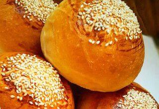 تصویر از طرز تهیه نان کماج