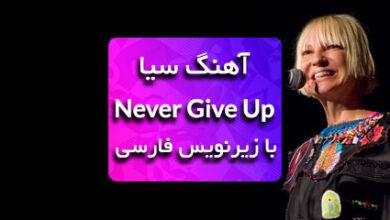 Photo of دانلود اهنگ never give up از سیا