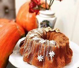 کیک کدو حلوایی خوشمزه در منزل