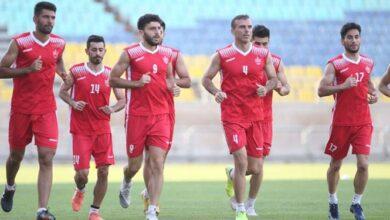 گزارش تمرین پرسپولیس  ریکاوری شاگردان گلمحمدی در غیبت 3 بازیکن